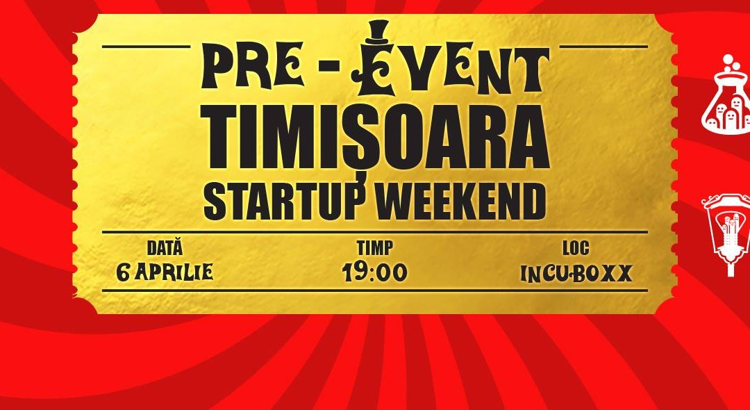 Pre-eveniment Startup Weekend