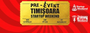 Pre-Eveniment Startup Weekend INCUBOXX
